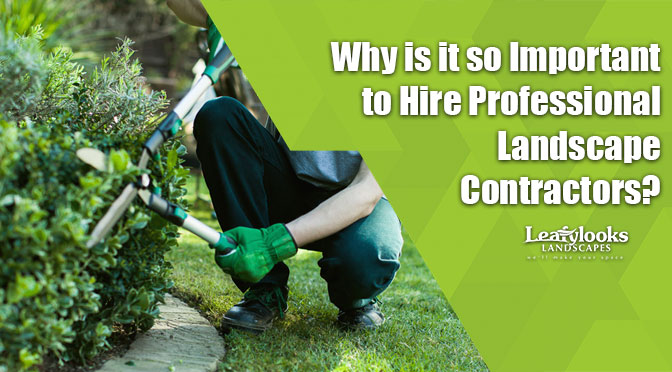 Why is it so Important to Hire Professional Landscape Contractors?