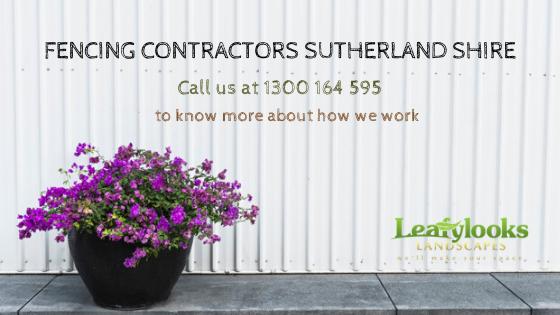 Fencing Contractors Sutherland Shire