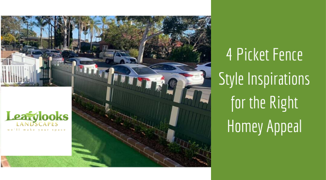 4 Picket Fence Style Inspirations for the Right Homey Appeal