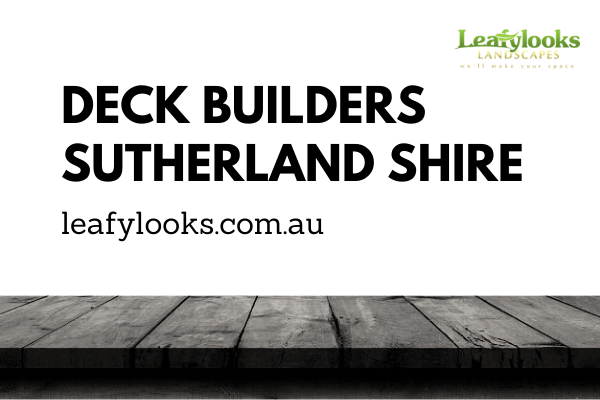 Deck Builders Sutherland Shire