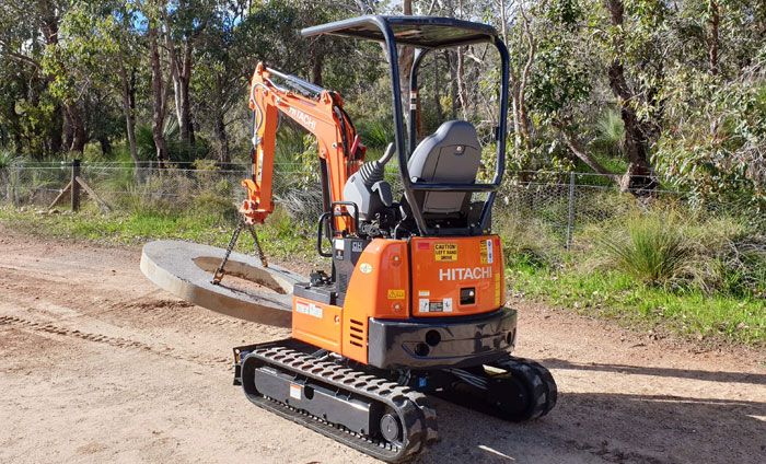 Tight Access Excavation Hire