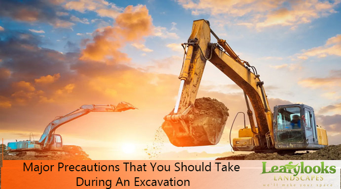 Major Precautions That You Should Take During An Excavation